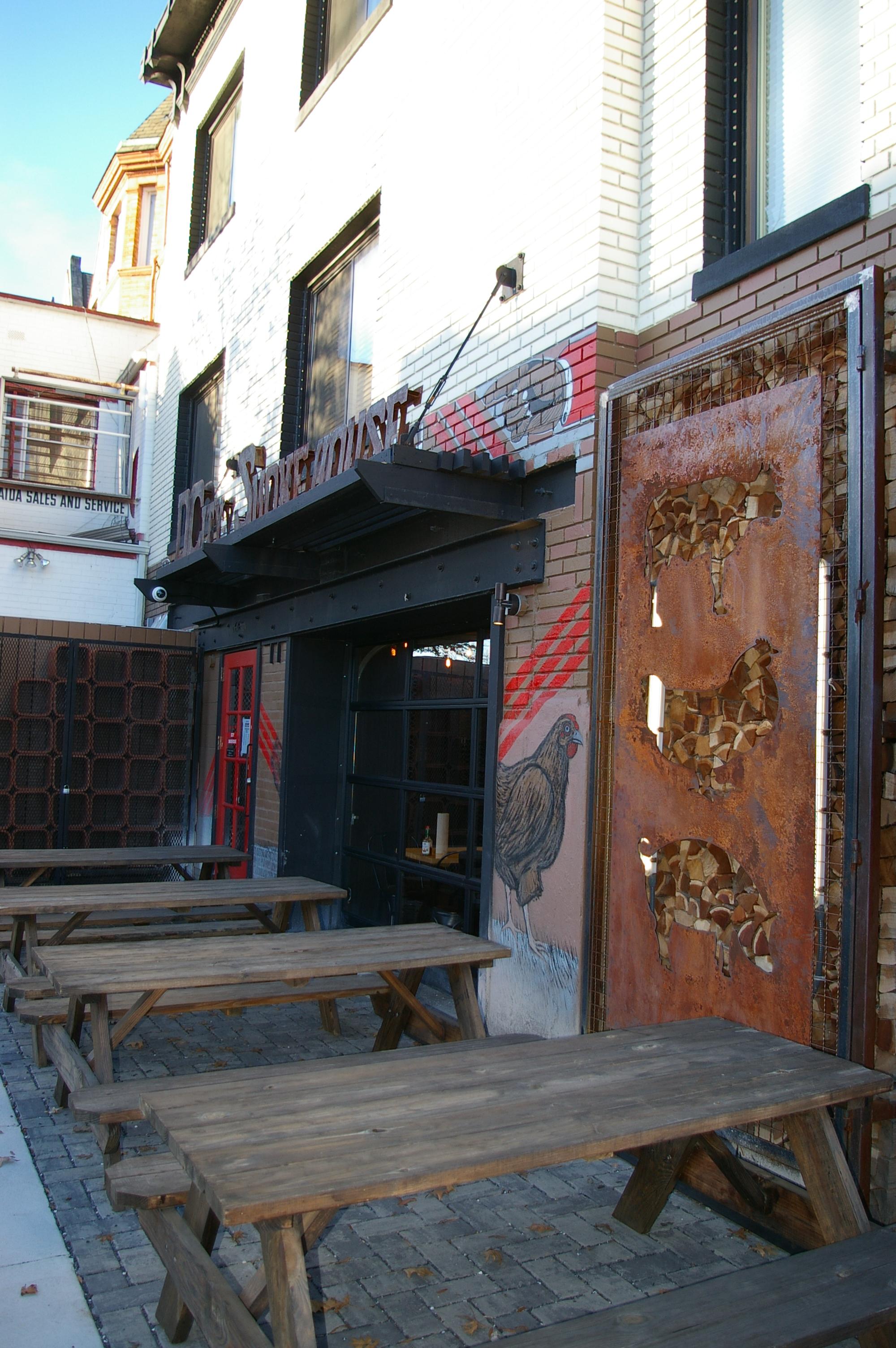 DCity Smokehouse restaurant exterior