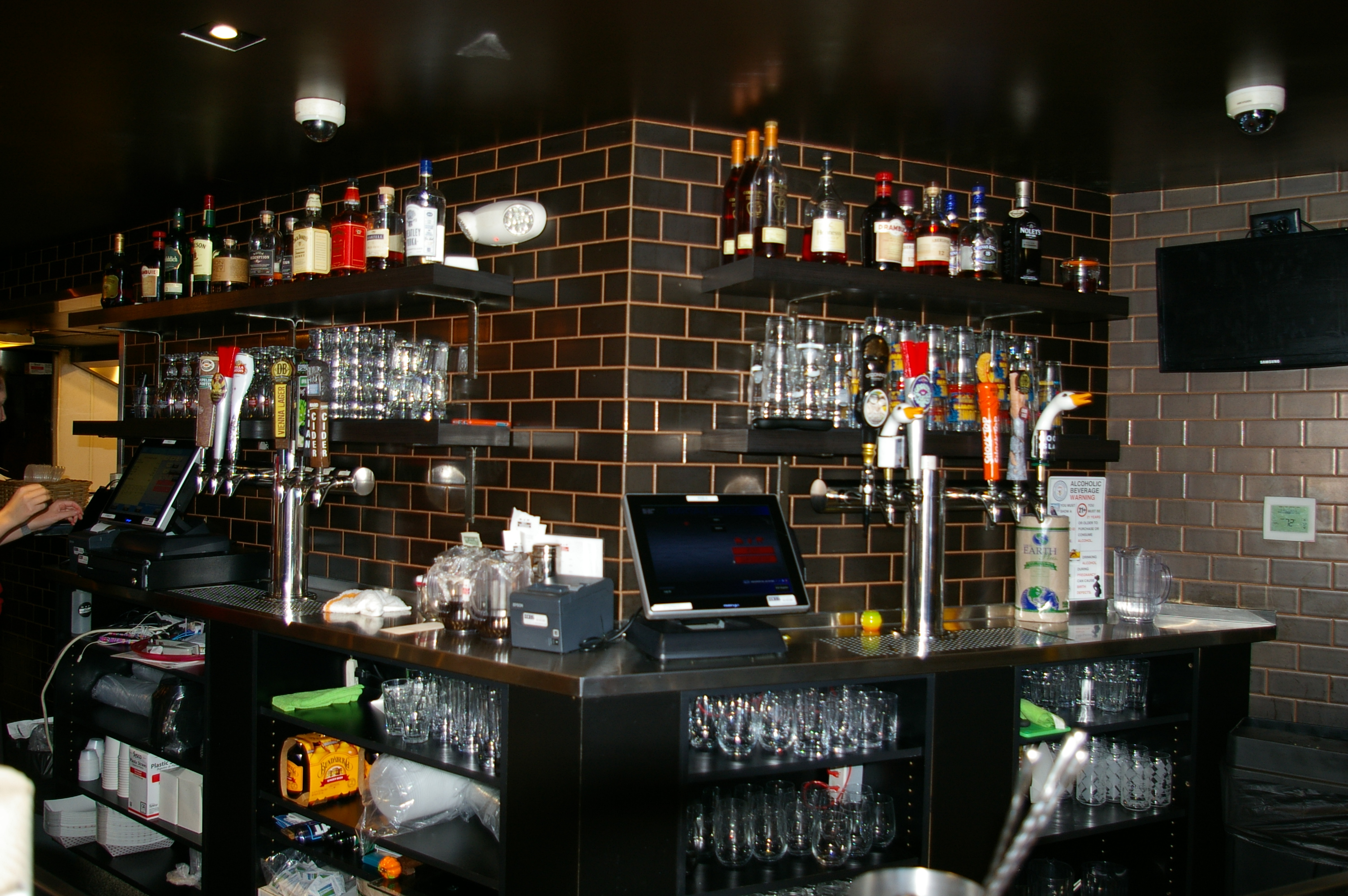 DCity Restaurant bar