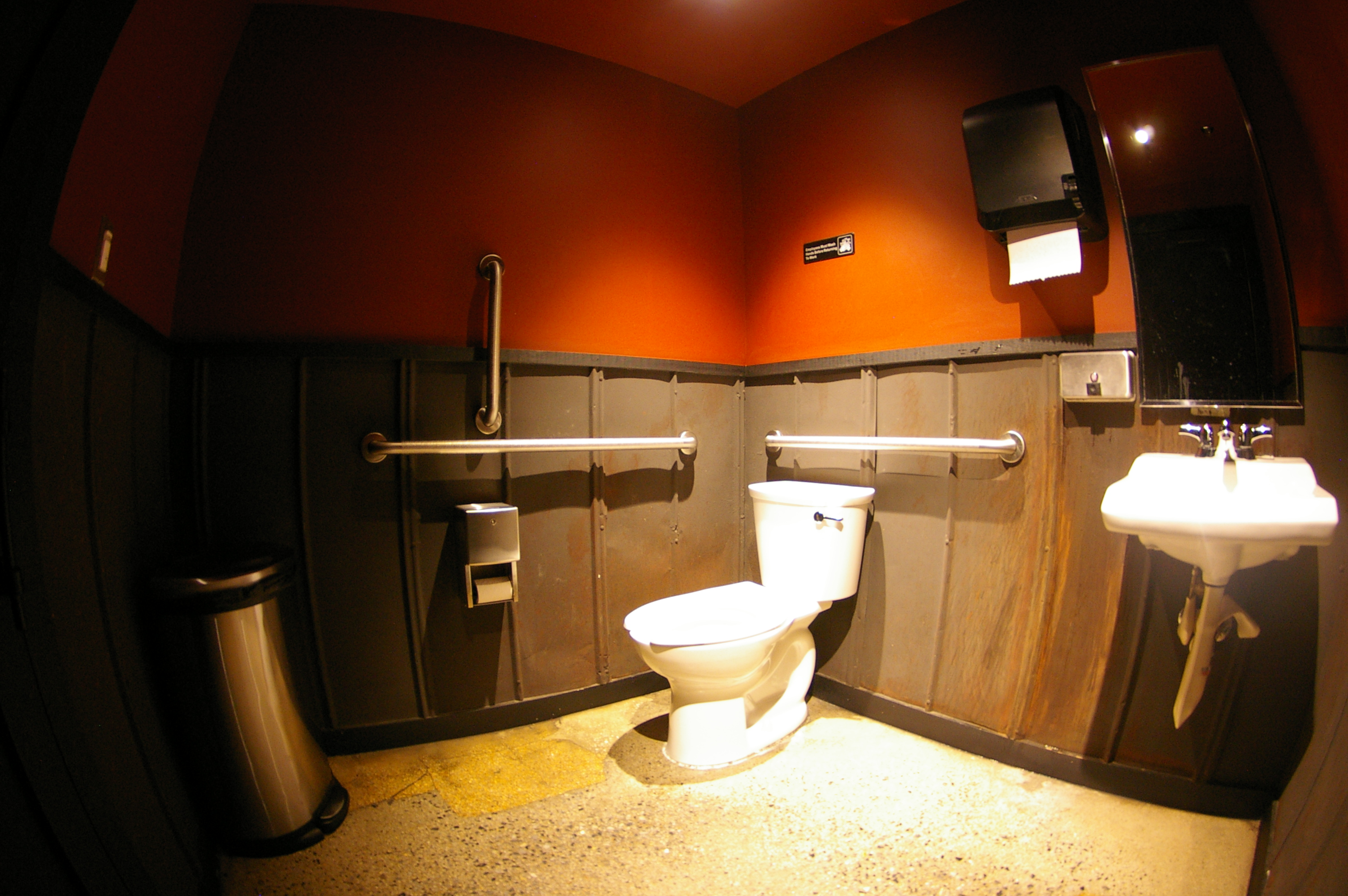 DCity Smokehouse restaurant restroom